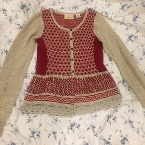 Sweaters - A wool baby doll cardigan.